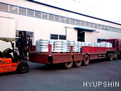 Jinan Hyupshin Flanges Co., Ltd, flanges packing and  delivery